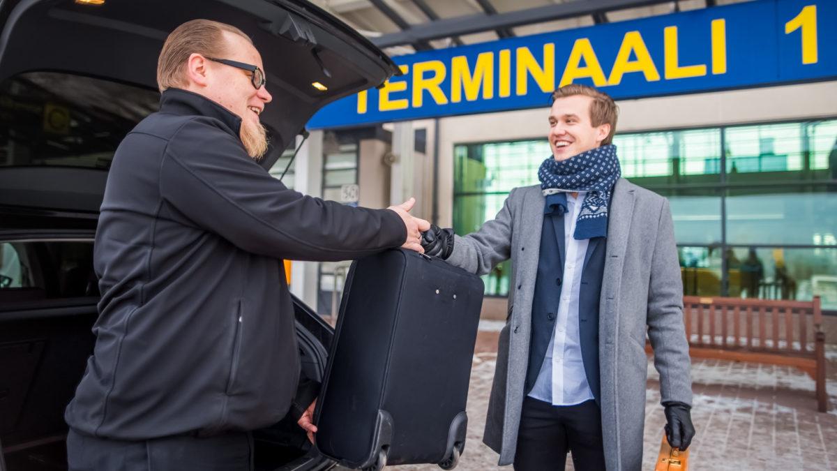 Business Tampere Pirkkala airport taxi