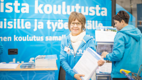 Talent Tampere Rekrytori TREDU stand by Laura Vanzo