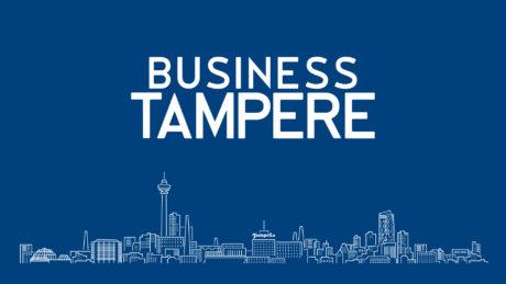 business tampere siluetti logo