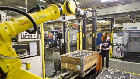 Alykäs koneteollisuus on yksi Tampereen seudun kärkitoimialoista.