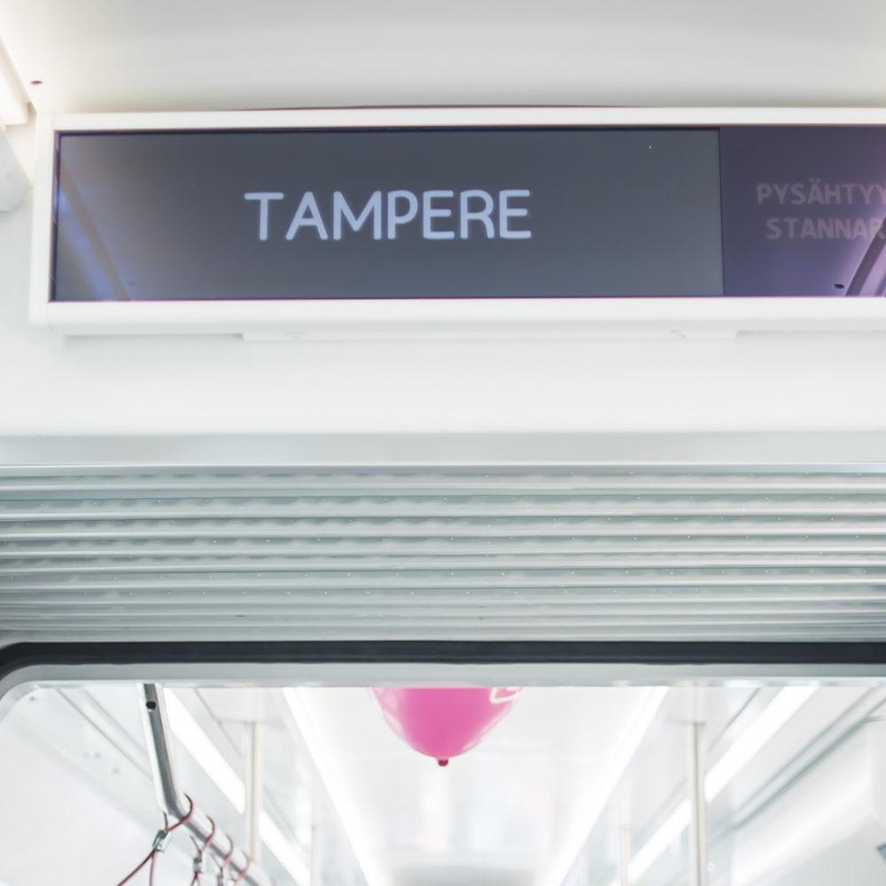Tarjoamme helpoimman pääsyn Suomen toiseksi suurimpaan kasvukeskukseen Tampereelle.