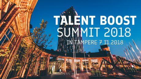 Talent Tampere - Talent Boost Summit Tampere 2018 banner