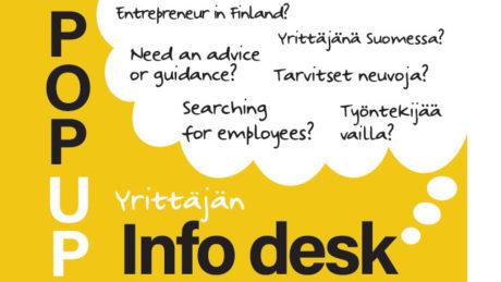 Talent Tampere Yrittajan Infodesk
