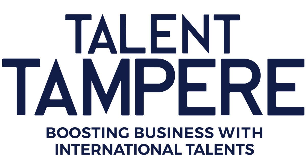Talent Tampere logo blue version 1