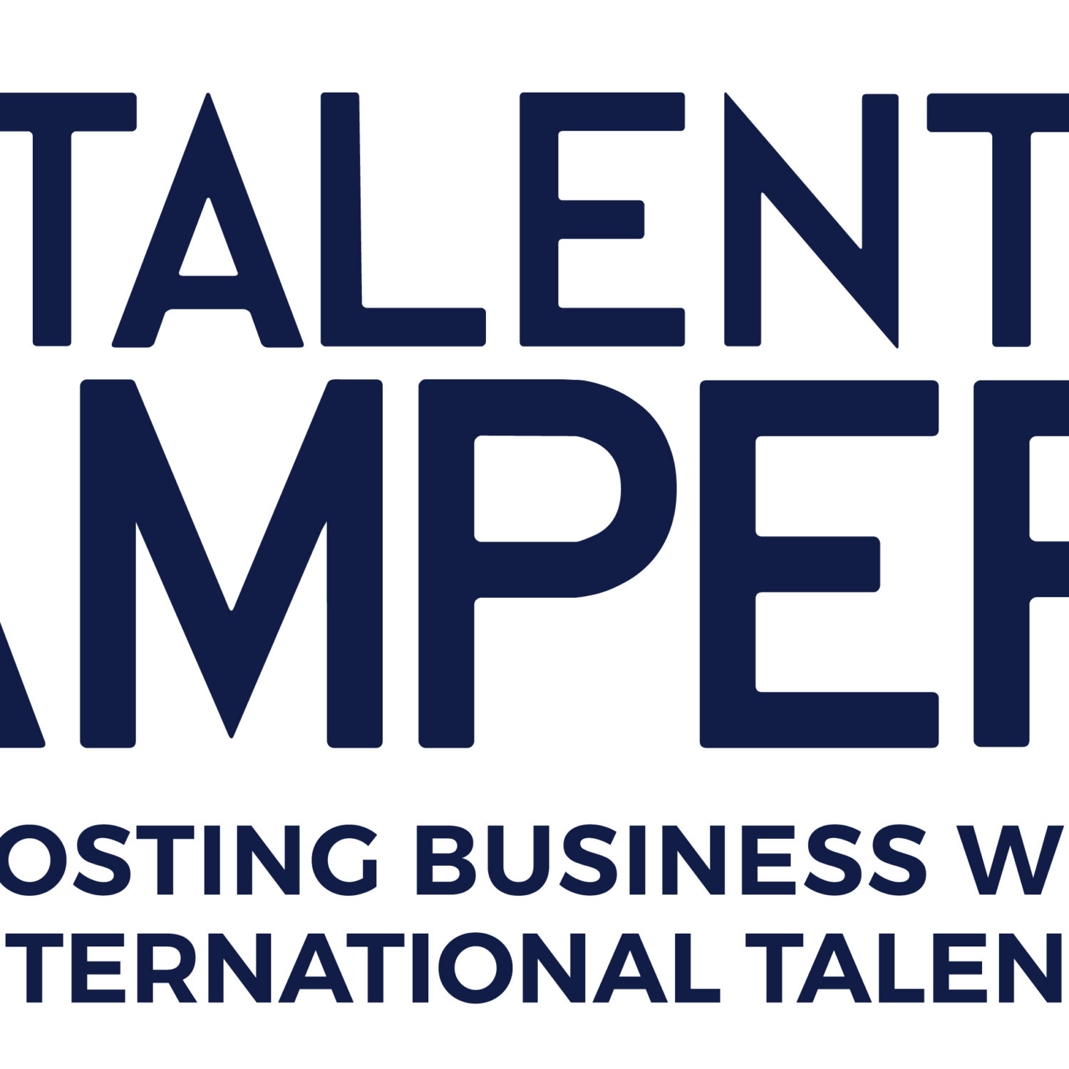 Talent Tampere logo blue version 1