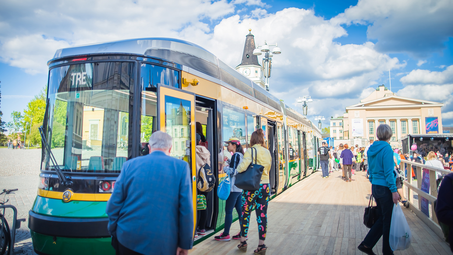business tampere mobility liikkuminen tram