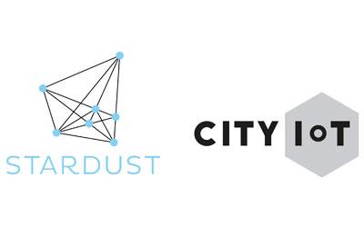 kuva: Stardust- ja CityIoT-hankkeen logot