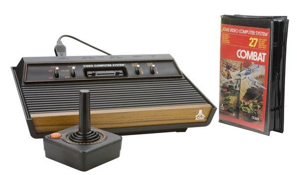 Atari game machine. Photo: Reetta Tervakangas