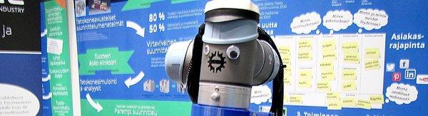 robotti SMACC-tiloissa