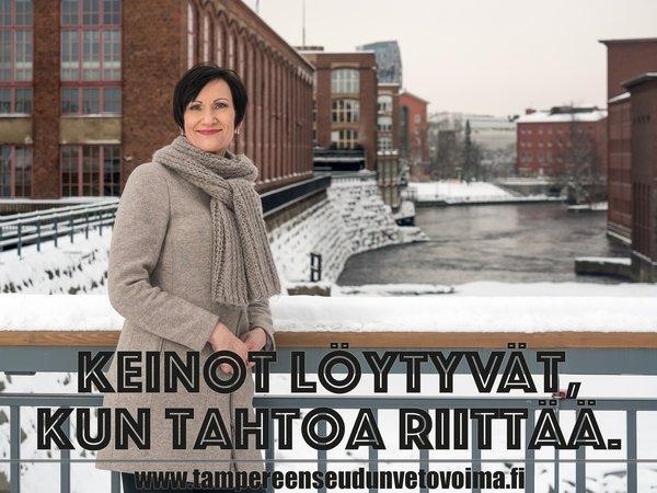 Päivi Myllykangas, toimitusjohtaja, Tredea Oy. Kuva: Mikko Vares