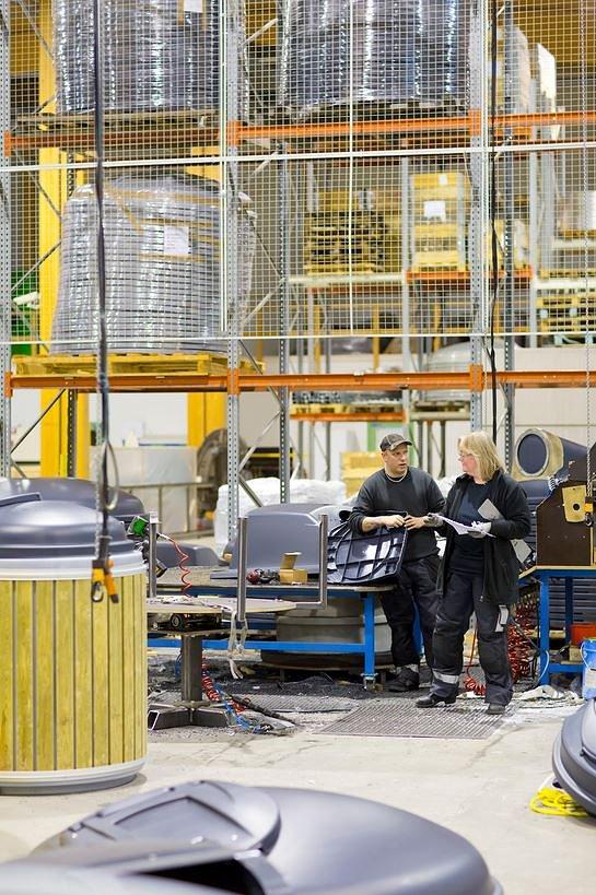 Yksi esimerkki Tampereen seudulla toimivista cleantech-yrityksistä on Molok (Kuva: Opa Latvala)