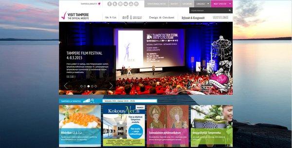 Uudistettu VisitTampere.fi-matkailusivusto kertoo, mitä tänään tehtäisiin.
