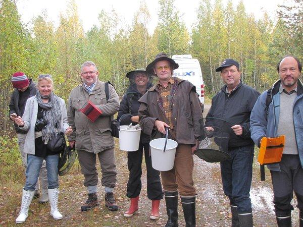 Jos metsään haluat mennä nyt... (Finnsih lifestyle -pressimatkalaiset 2012)
