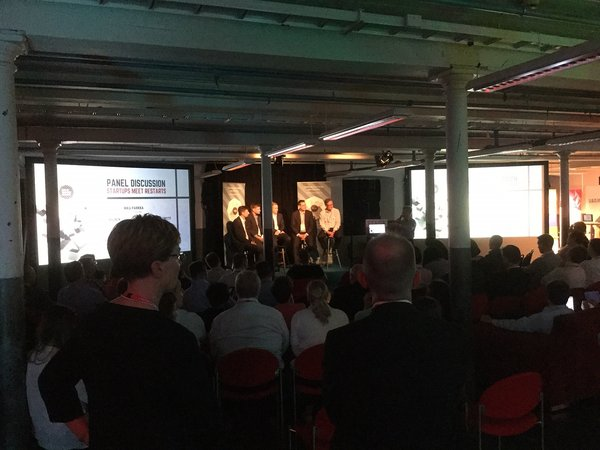 New Factory Open, panel discussion, Tampere