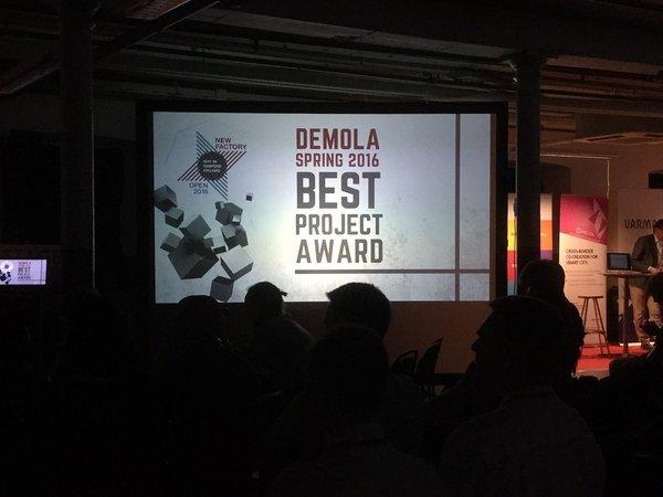 Demola Best Project Award