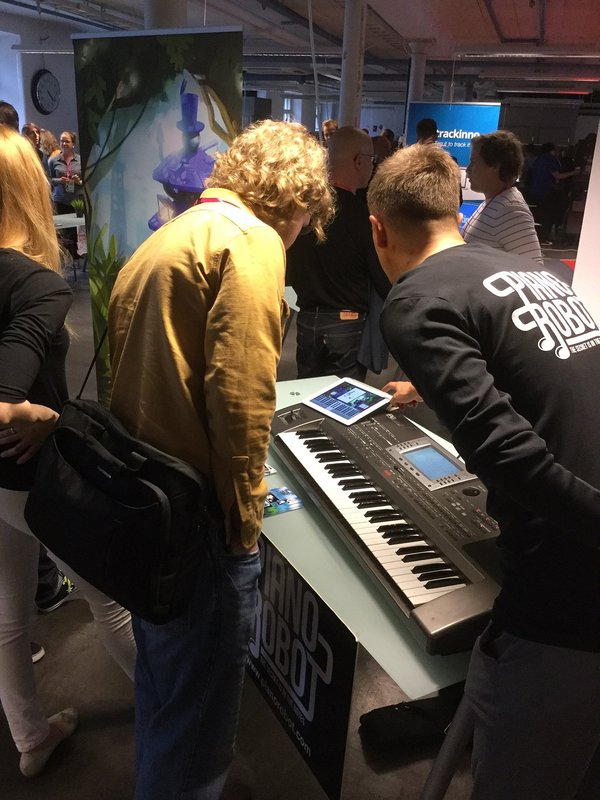New Factory Open, Pianorobot
