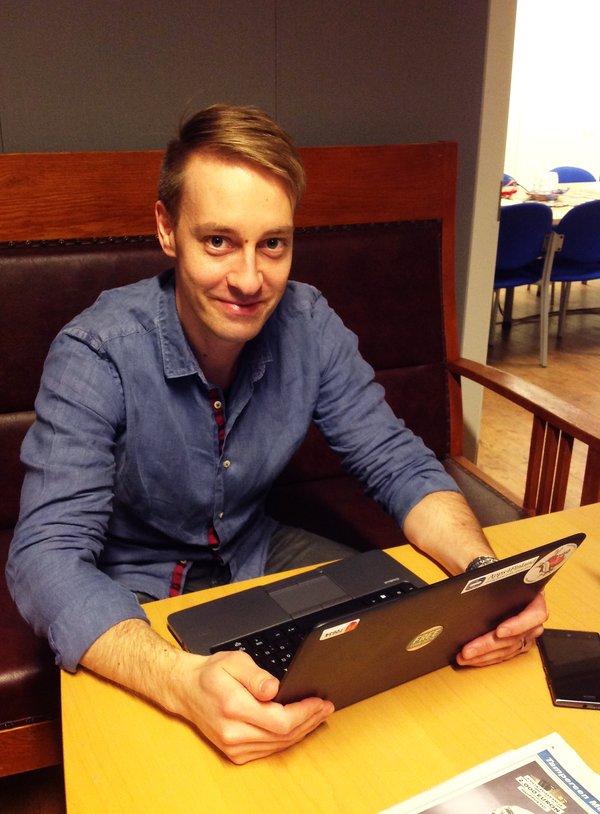 Matti Saastamoinen toimii Tredeassa avoimesta datasta vastaavana kehityspäällikkönä ja johtaa Kuutoskaupunkien avoin data -hankkeen koordinaatiota.
