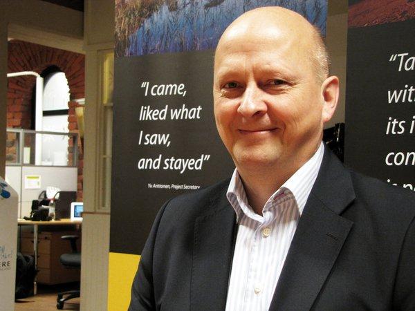 DMG MORI Finlandin toimitusjohtaja Juha Pihlajamaa.