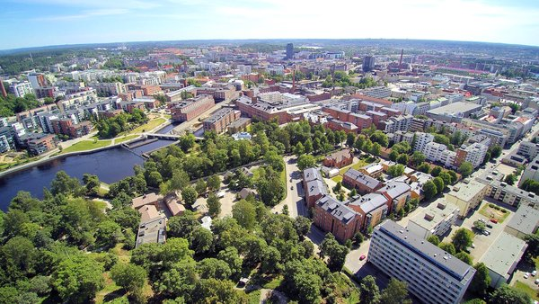 Tampere is Finland's most popular city