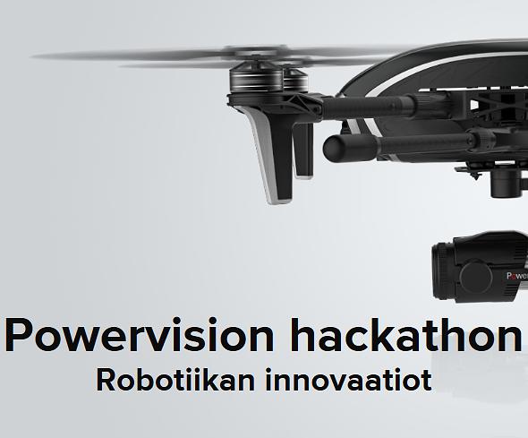 Powervisionin hackathonissa innovoidaan robotiikan sovelluksia