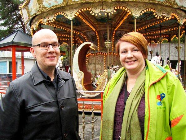 Jussi Laine ja Maria Eskelinen löysivät Pirkanmaan rakkausteemasta kasapäin yhteistyömuotoja.