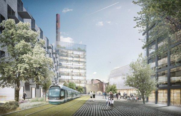 Hiedanranta, smart mobility, smart tram