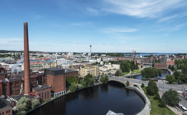 Tampere kehittää kaupunkiympäristöä ideakilpailun sadolla. Kuva: Kari Savolainen