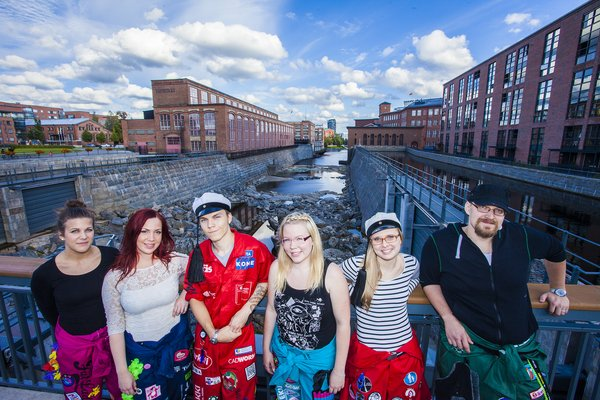 Tampere - The students friendliest city in Finland. Photo: Jonne Renvall​