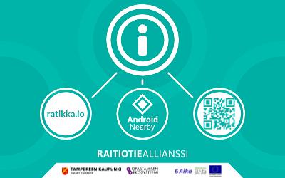 ratikka.io verkkosovellus Ratikka Tampere