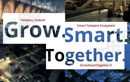 Grow Smart Together Tampere Smart City Finland