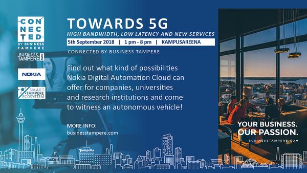 Towards 5G event Sept 5, 2018