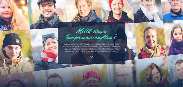 Tampereen kasvot