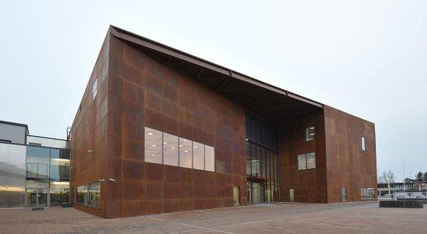 Uusi kulttuurikeskus Kangasala-talo avataan 1. helmikuuta 2015. kuva: Arto Jalonen
