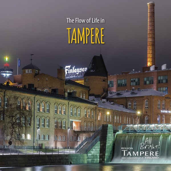 """""""The Flow of Life in Tampere"""" brochure"""