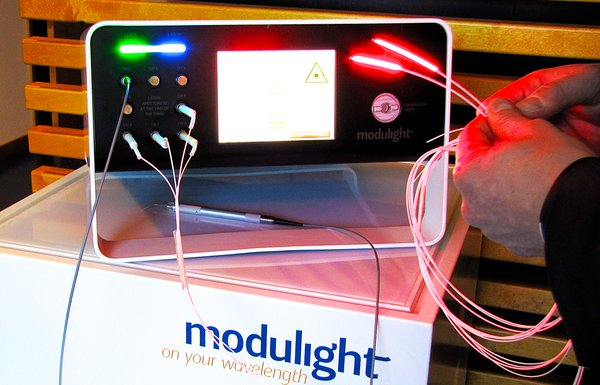 Modulight's laser treatment system can be used in surgery, cancer treatment and antibacterial applications​​.​