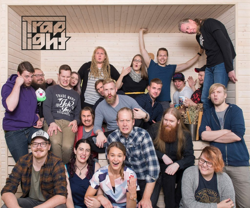 ManseGames2018 Traplight Games Team Photo