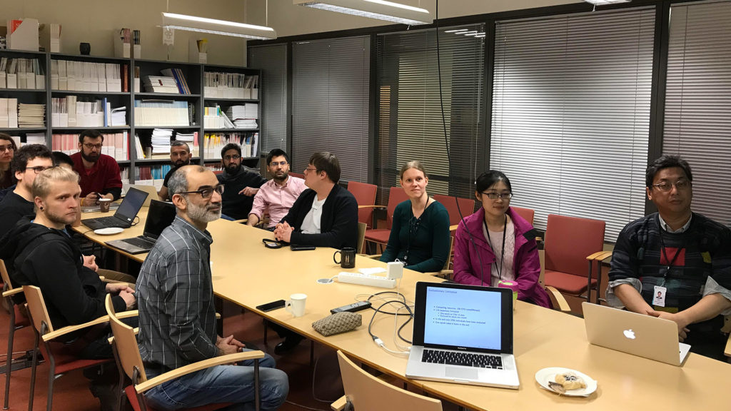 Moncef Gabbouj's research team at Tampere University of Technology