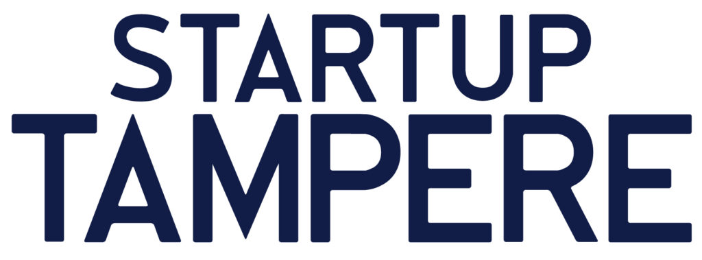 Startup Tampere Logo RGB blue