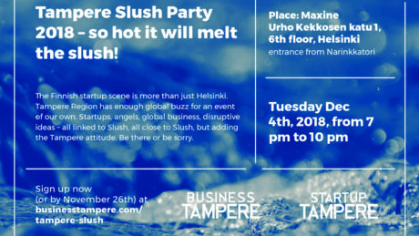 Business Tampere_ Tampere Slush Party 2018