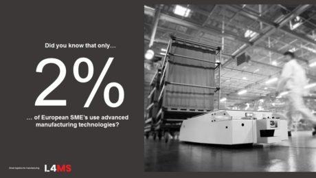 L4MS-kiihdytysohjelma vauhdittaa pk-teollisuuden tehtaiden automatisointia