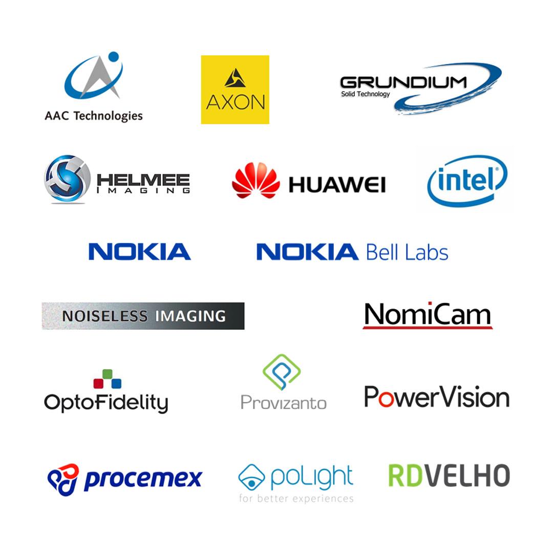 Tampere Imaging Ecosystem companies - logos