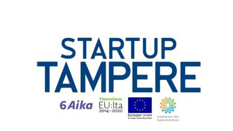 Startup Tampere logoilla 1