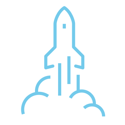 Startup Tampere prosessi ikoni lanseeraus