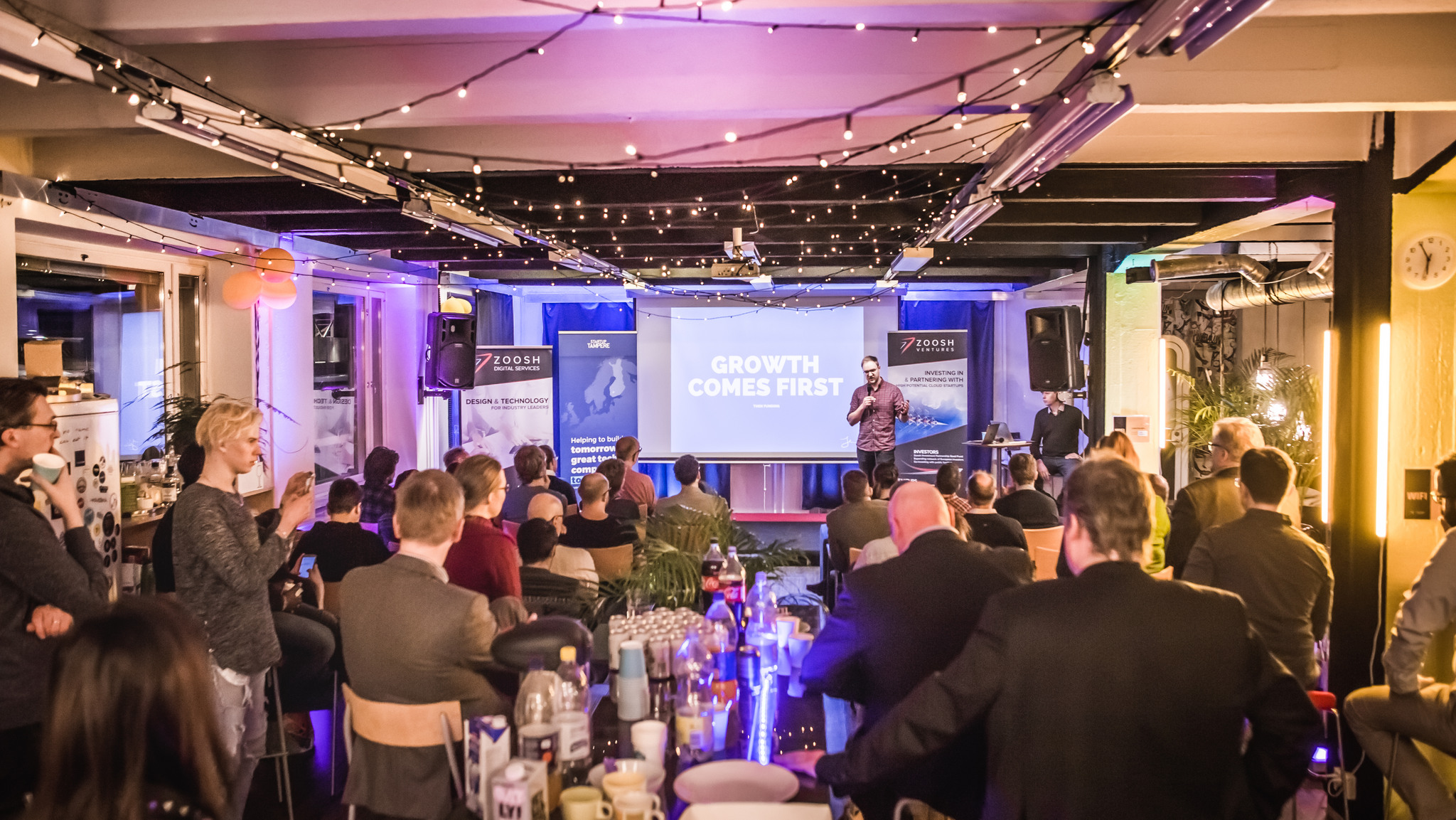 Business Tampere Startup Meetup Tribe event
