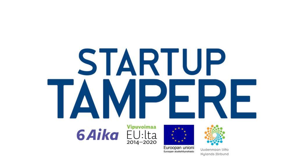 Startup Tampere logoilla