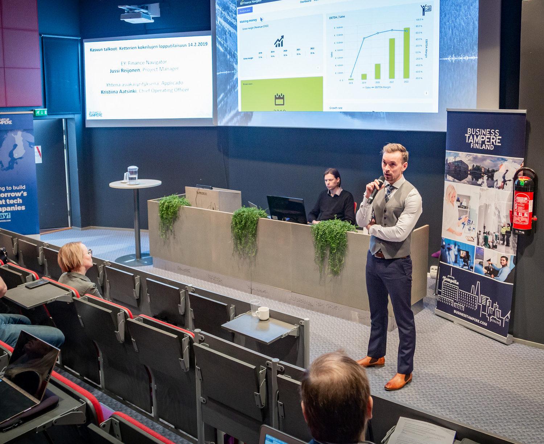 Business Tampere Ketterät Kokeilut. Kuva Mirella Mellonmaa