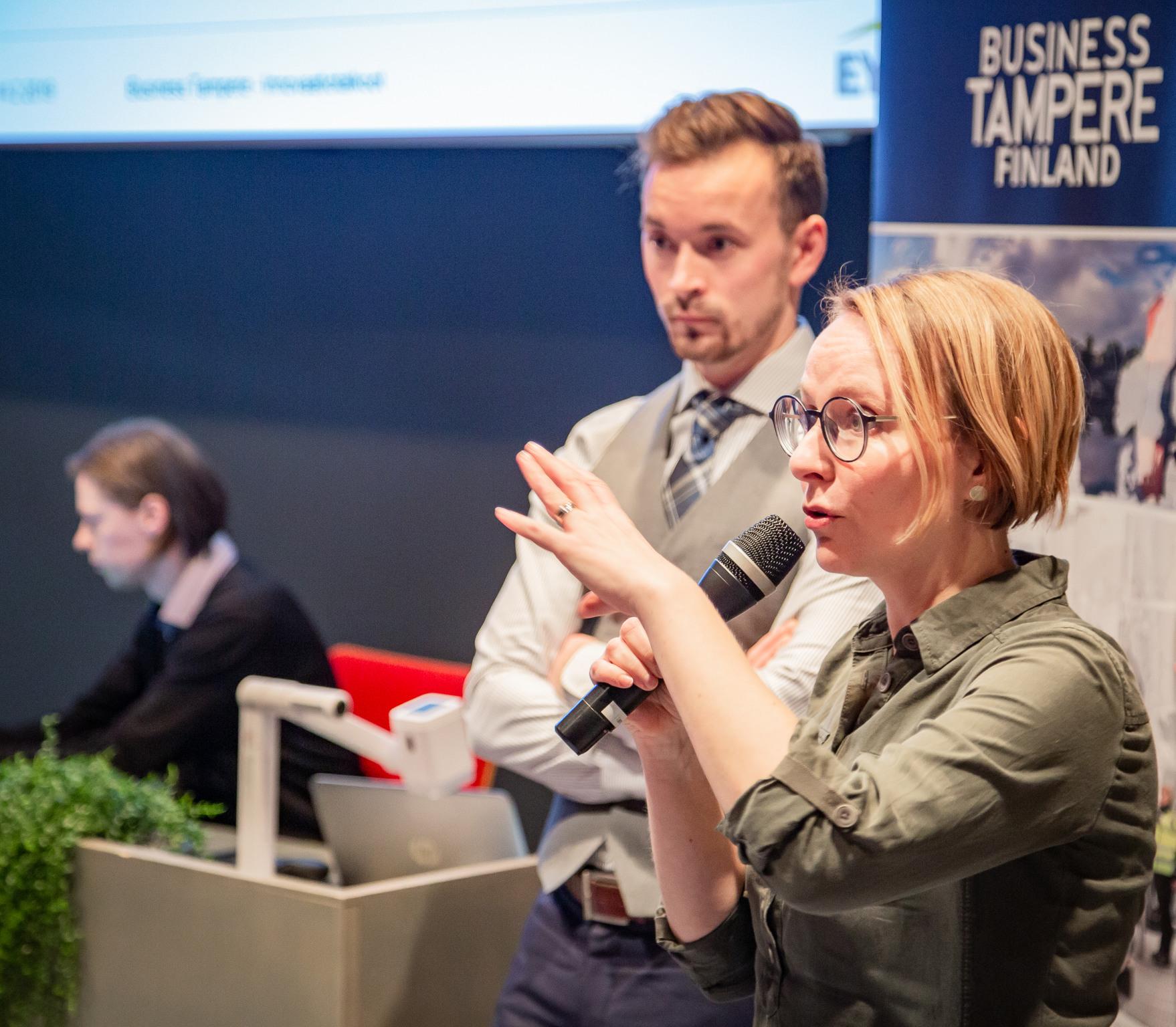 Business Tampere Ketterät Kokeilut, Mirella Mellonmaa