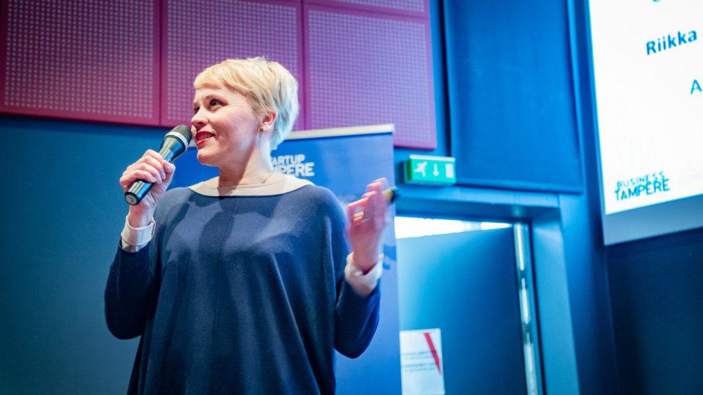 Business Tampere Ketterät Kokeilut -päätöstilaiuus. Kuva: Mirella Mellonmaa