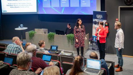 Business Tampere Ketterät Kokeilut -lopputapahtuma. Kuva: Mirella Mellonmaa