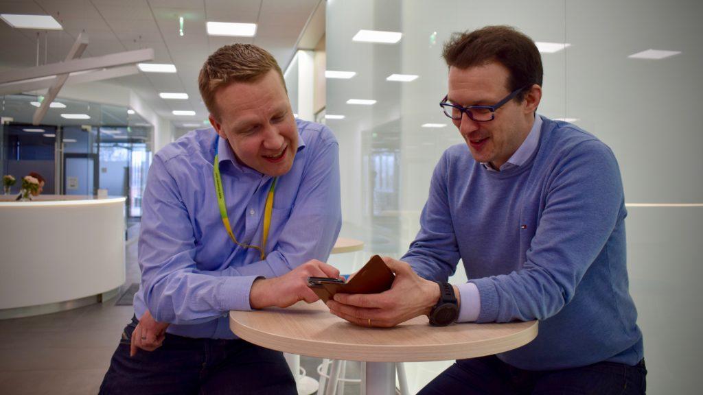 Jeri Vääri ja Antti Vuolli